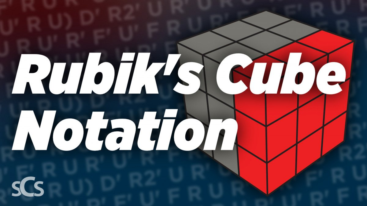 3x3 Rubik's Cube Notation - How to read the letters
