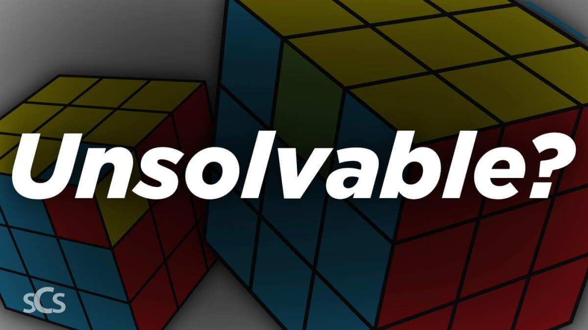 Unsolvable Rubik's Cubes? Impossible Cubes