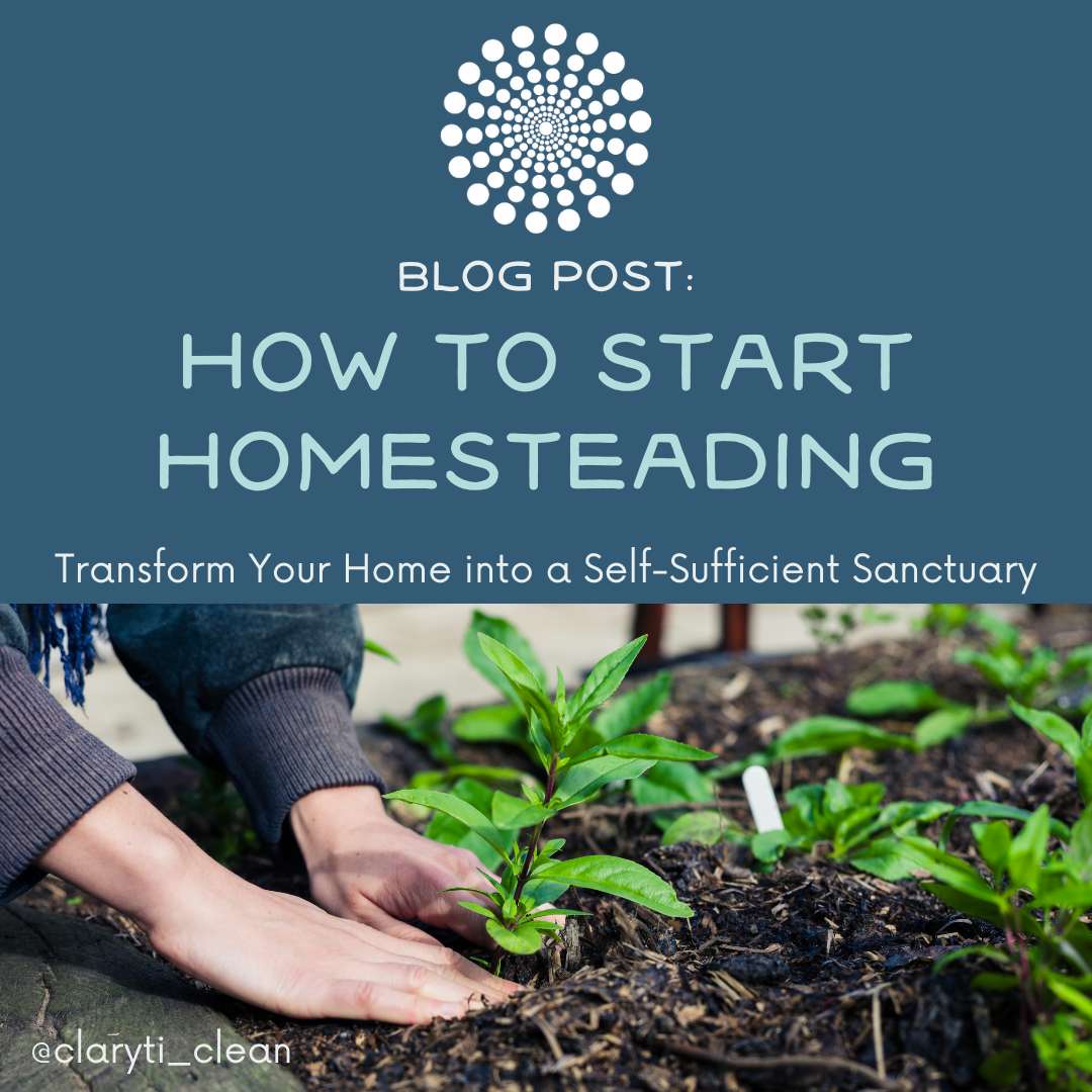 How to Start Homesteading: Transform Your Home into a Self-Sufficient Sanctuary