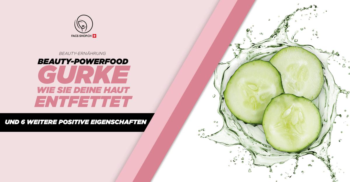 Beauty-Powerfood Gurke: Wie sie deine Haut entfettet und 6 weitere positive Eigenschaften