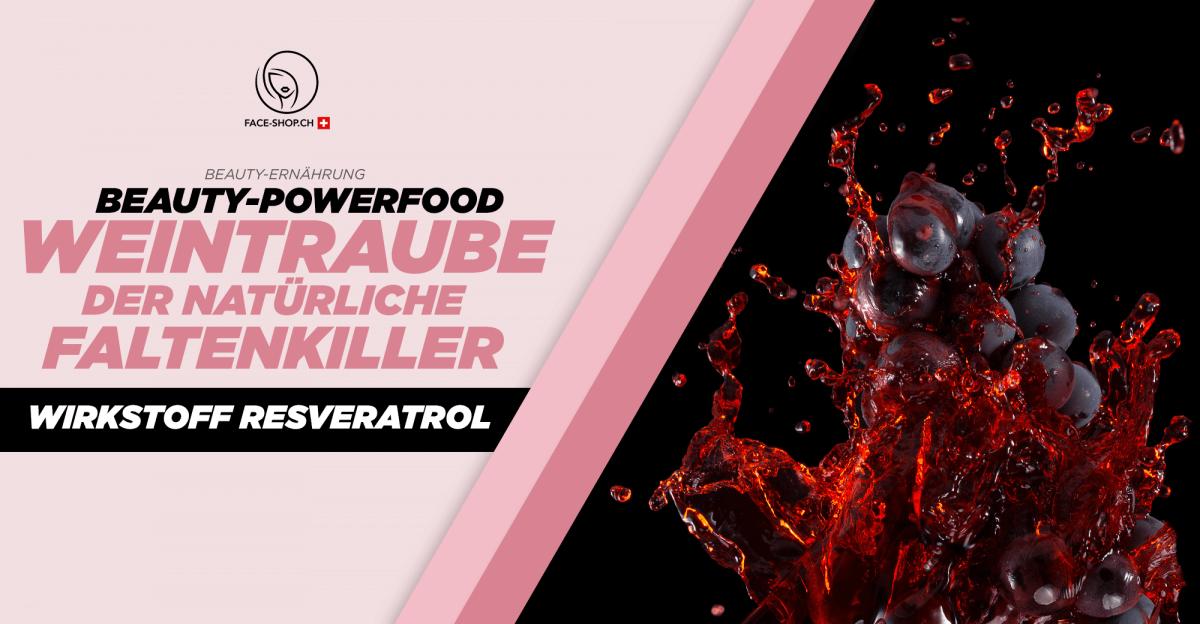 Beauty-Powerfood Weintrauben: Resveratrol – Der natürliche Faltenkiller
