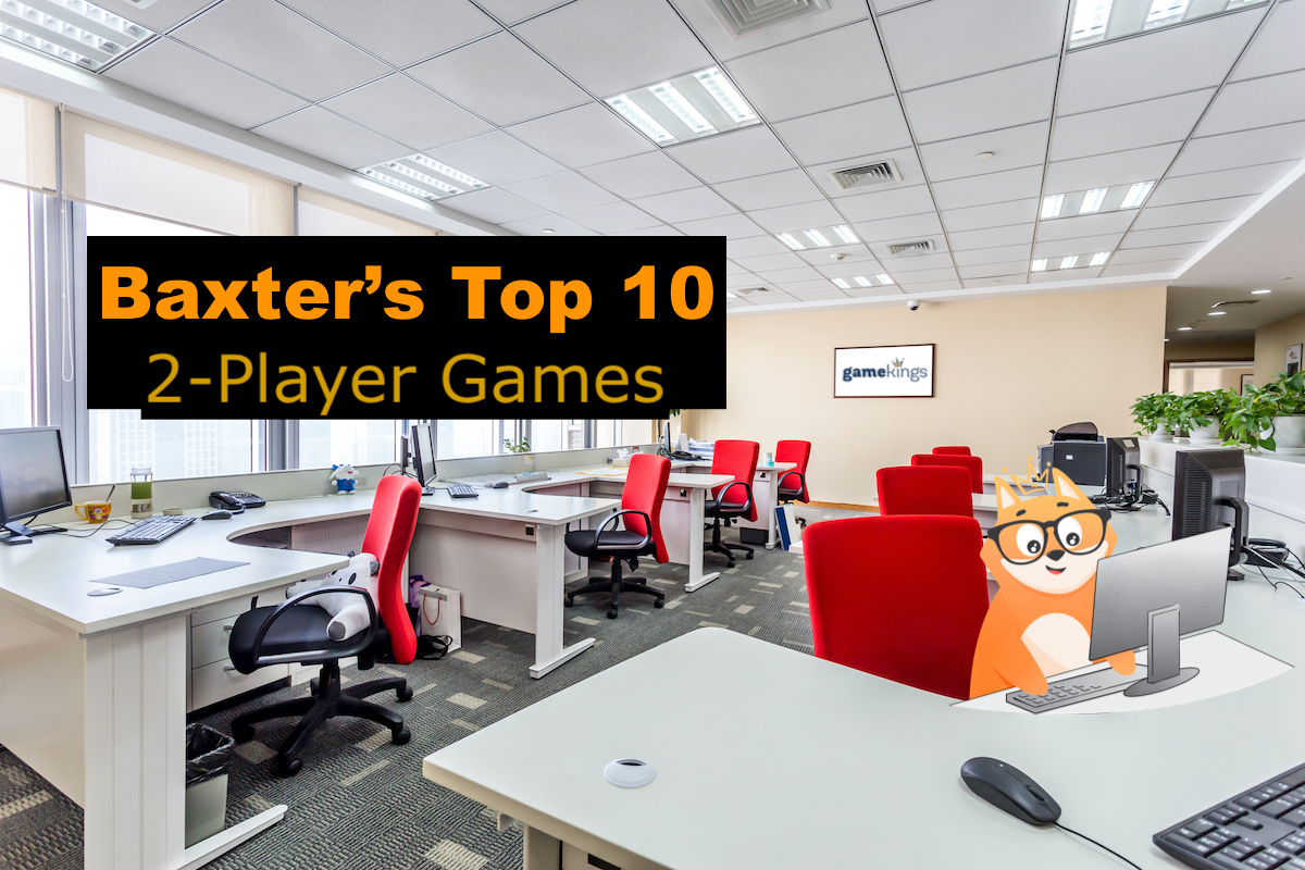 Baxter's Top 10 2-Player Games