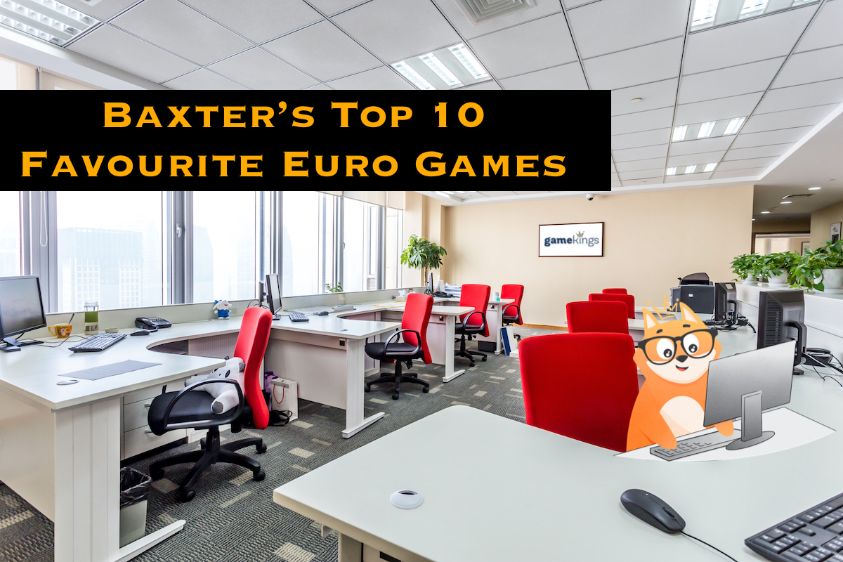 Baxter's Top 10 Favourite Euro Games