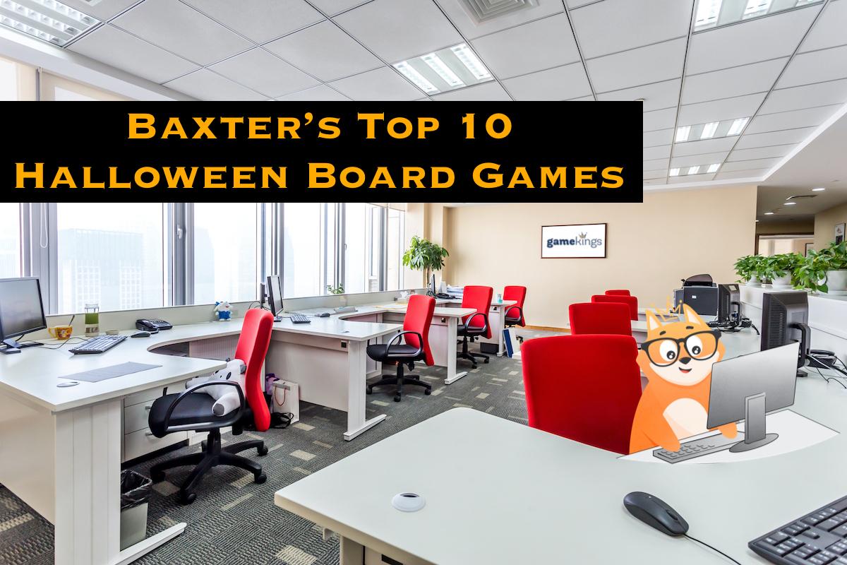 Baxter's Top 10 Halloween Board Games