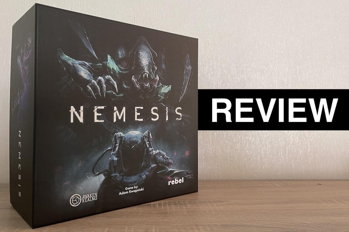 Nemesis by Awaken Realms - Review by Brian Ellis