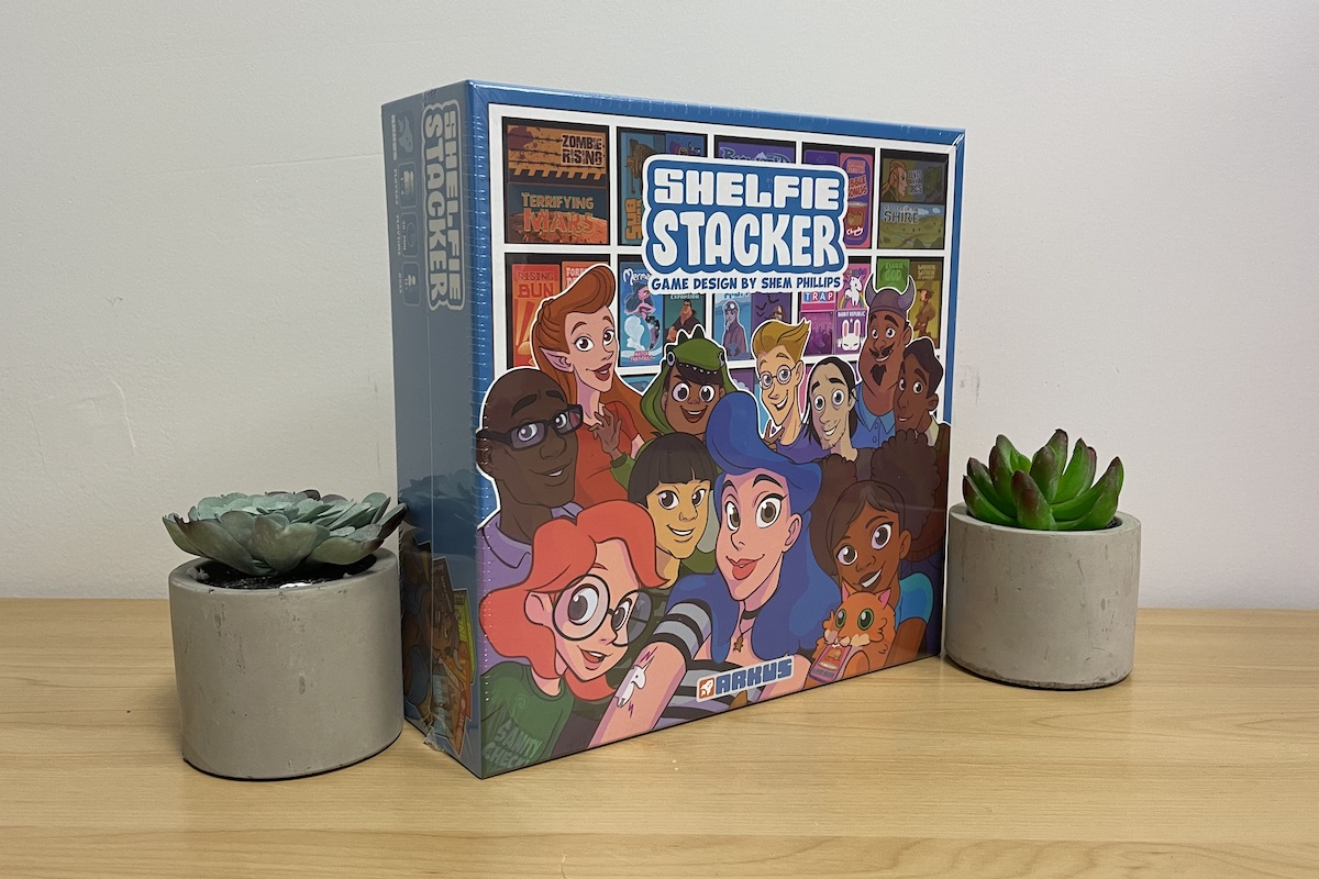 Hidden Gems - Shelfie Stacker by Shem Phillips