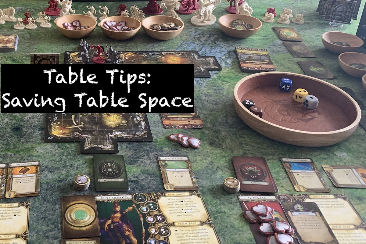 Table Tips: Saving Table Space