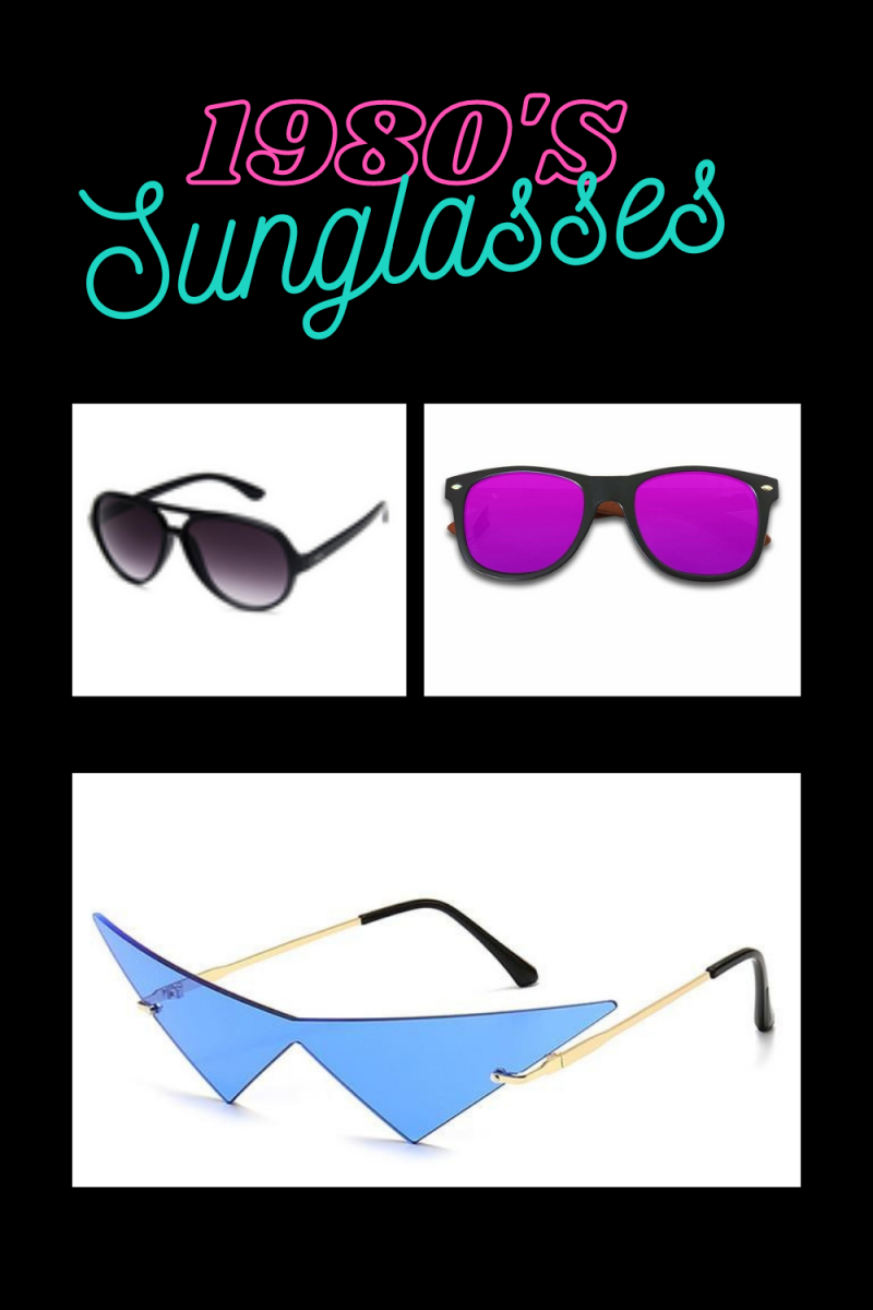 1980s Style Sunglasses-  Our Top Four Styles