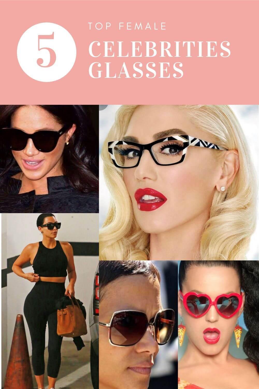 5 Top Female Celebrities Glasses