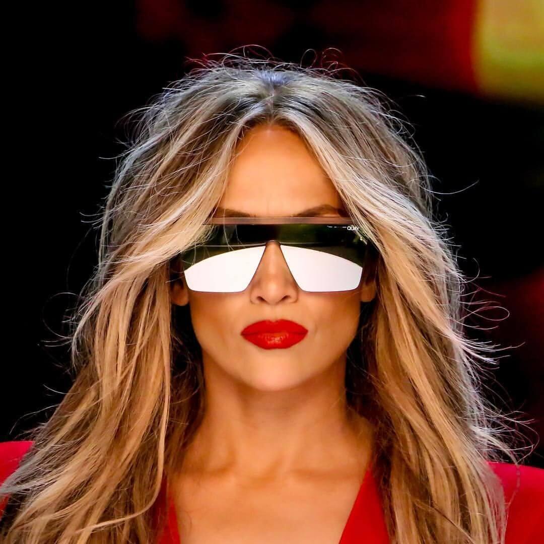 Jennifer Lopez Celebrity Flat Top Sunglasses