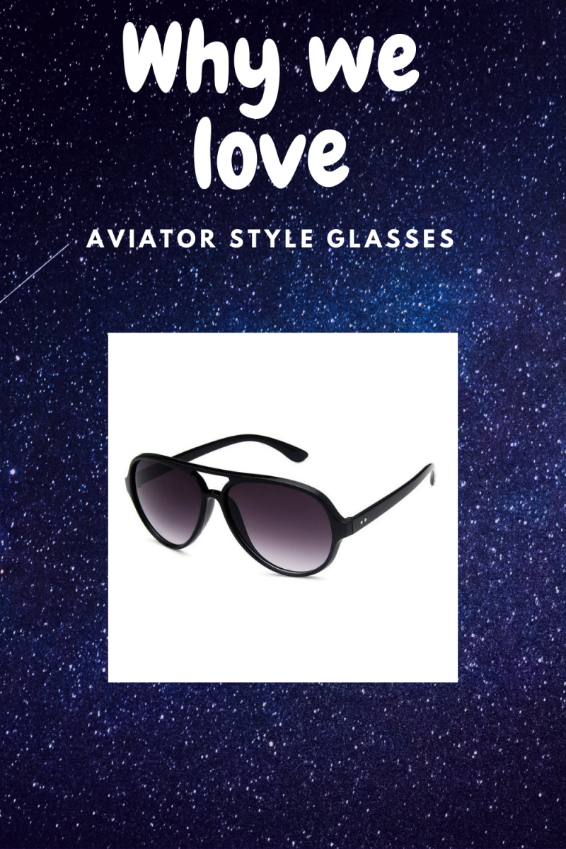 Why we love Aviator Style Glasses
