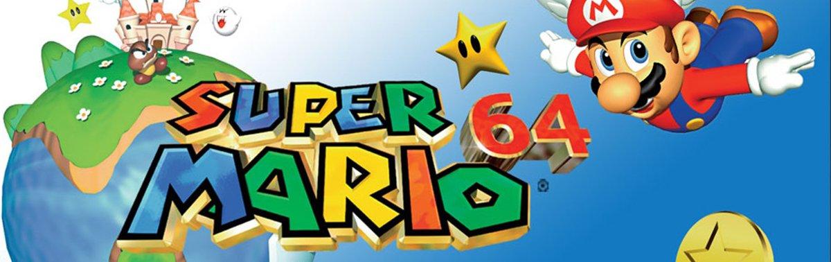 Super Mario 64 - an iconic Nintendo 64 title!