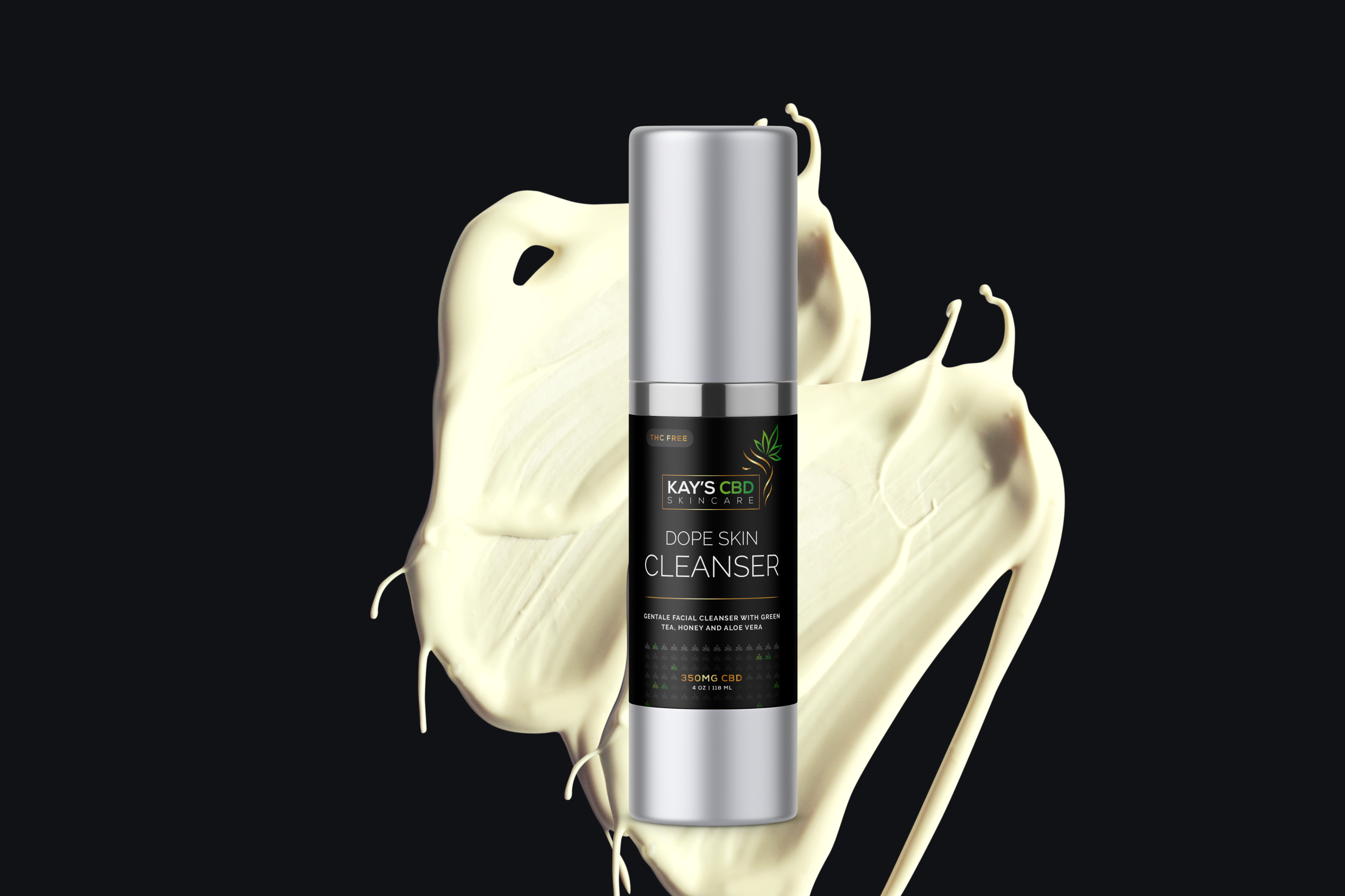 Dope Skin Cleanser Our CBD Facial Wash