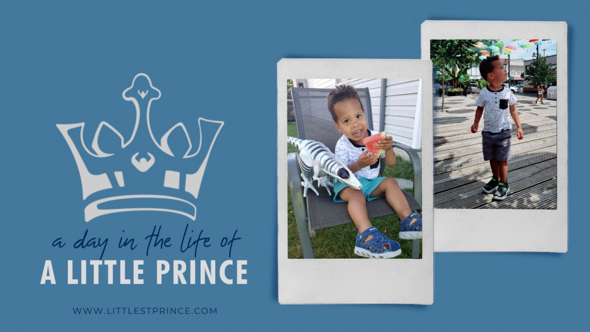 A Day in the Life of a 2 year old Little Prince