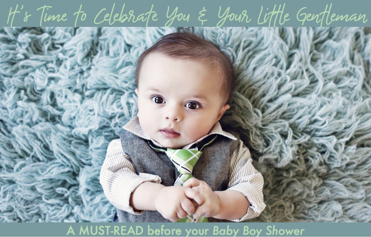 Host The Ultimate Baby Boy Shower!