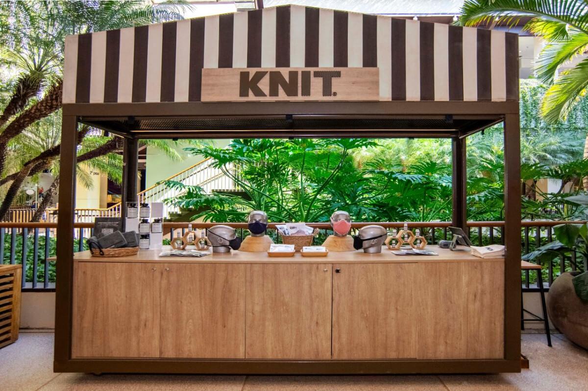 KNIT inaugura a sua primeira operação física no Shopping Cidade Jardim
