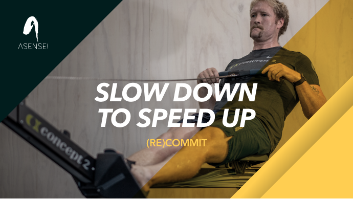 (RE)COMMIT #3: Slow Down to Speed Up! Training at low rates!