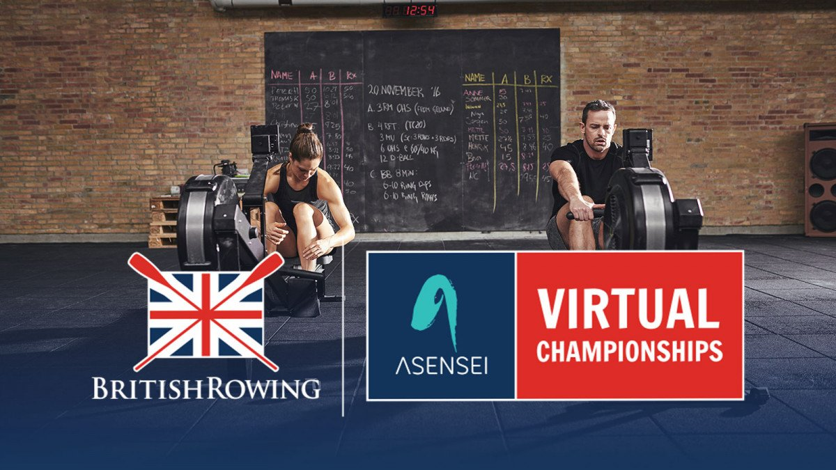 asensei connects as Title Sponsor of the 2021 asensei British Rowing Virtual Championships