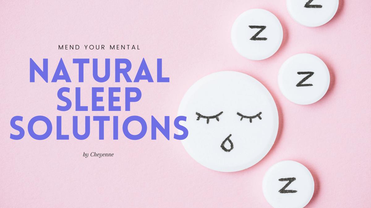 All Natural Sleep Aid, No Medication Needed!