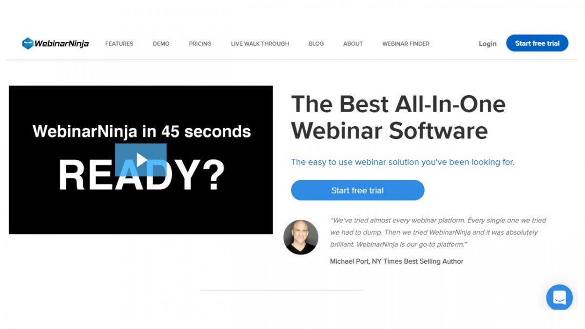 WebinarNinja(ウェビナーニンジャ)って何?配信準備の圧倒的な時短が叶う!