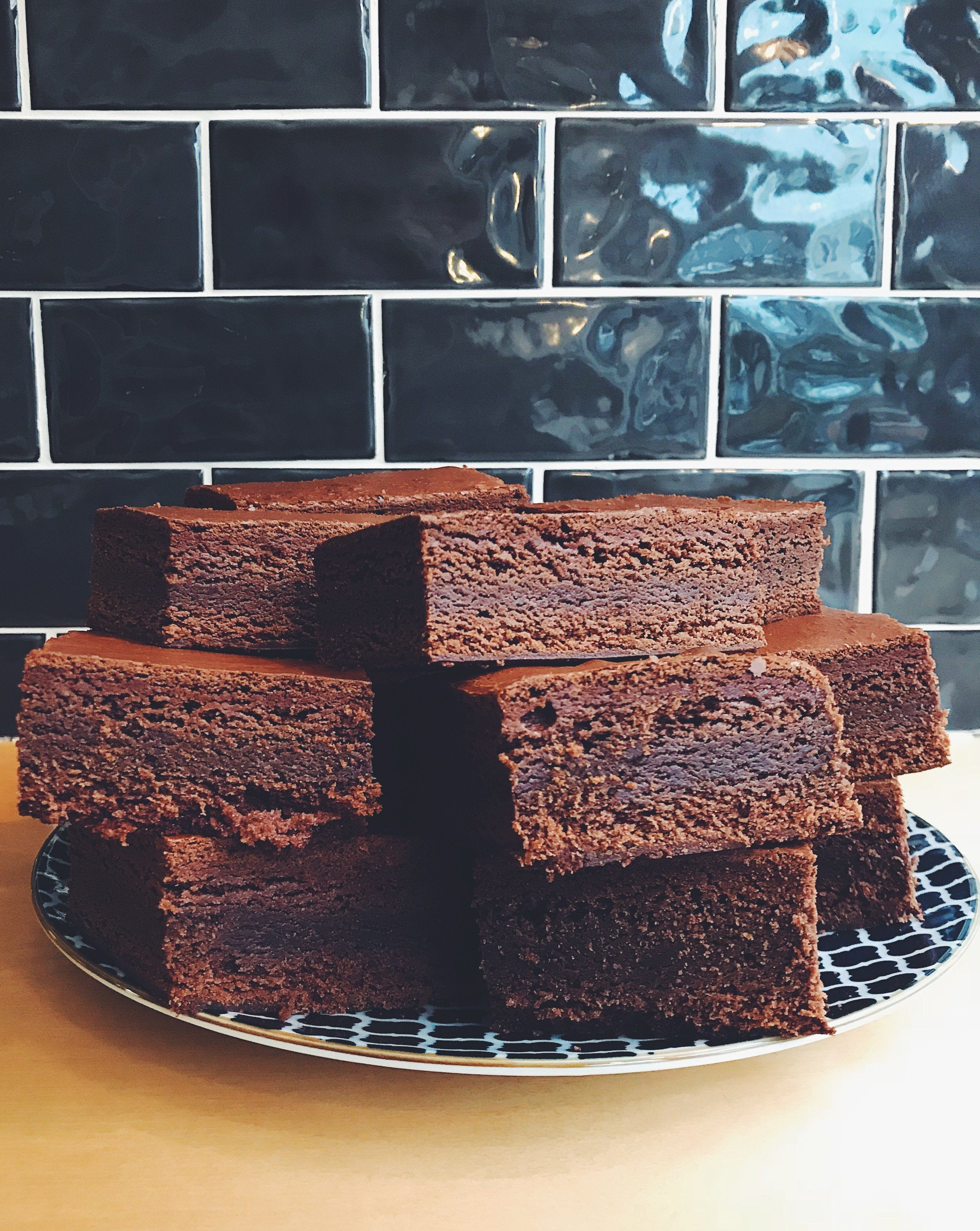 Kate's Dark Chocolate Brownies