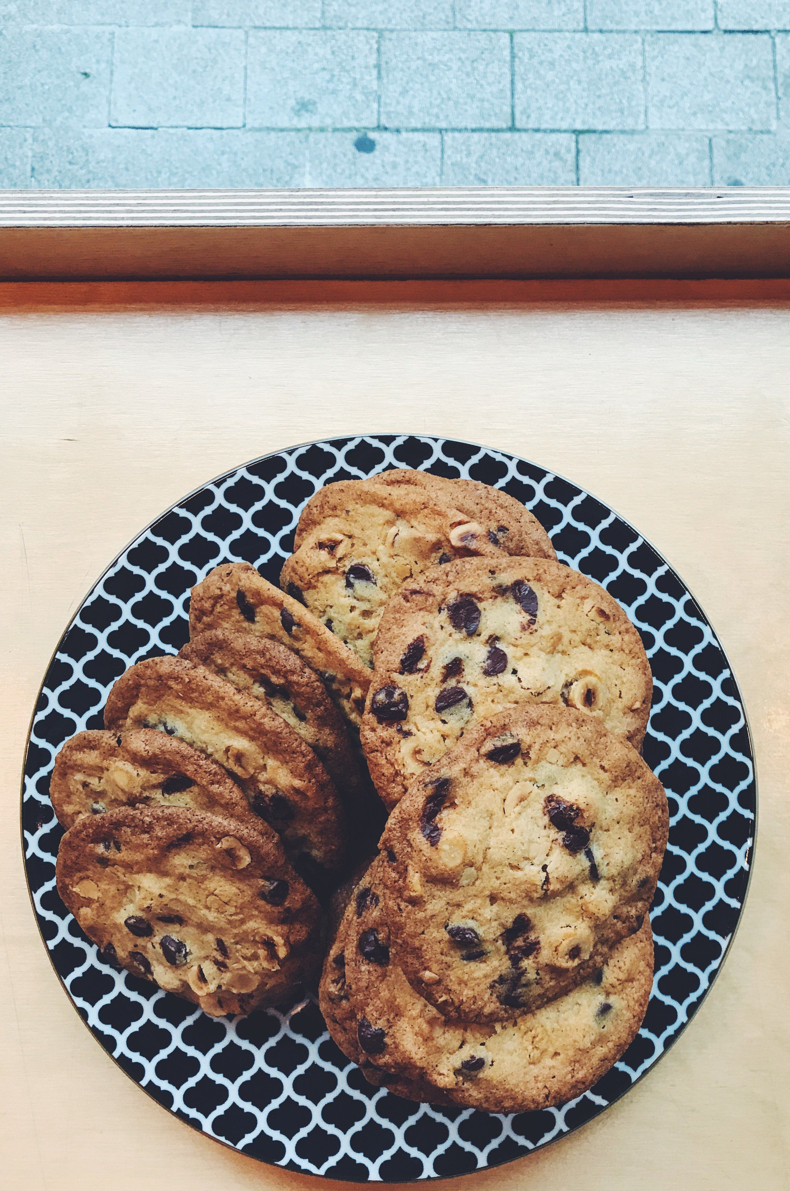 Kate's Chocolate & Hazelnut Cookies
