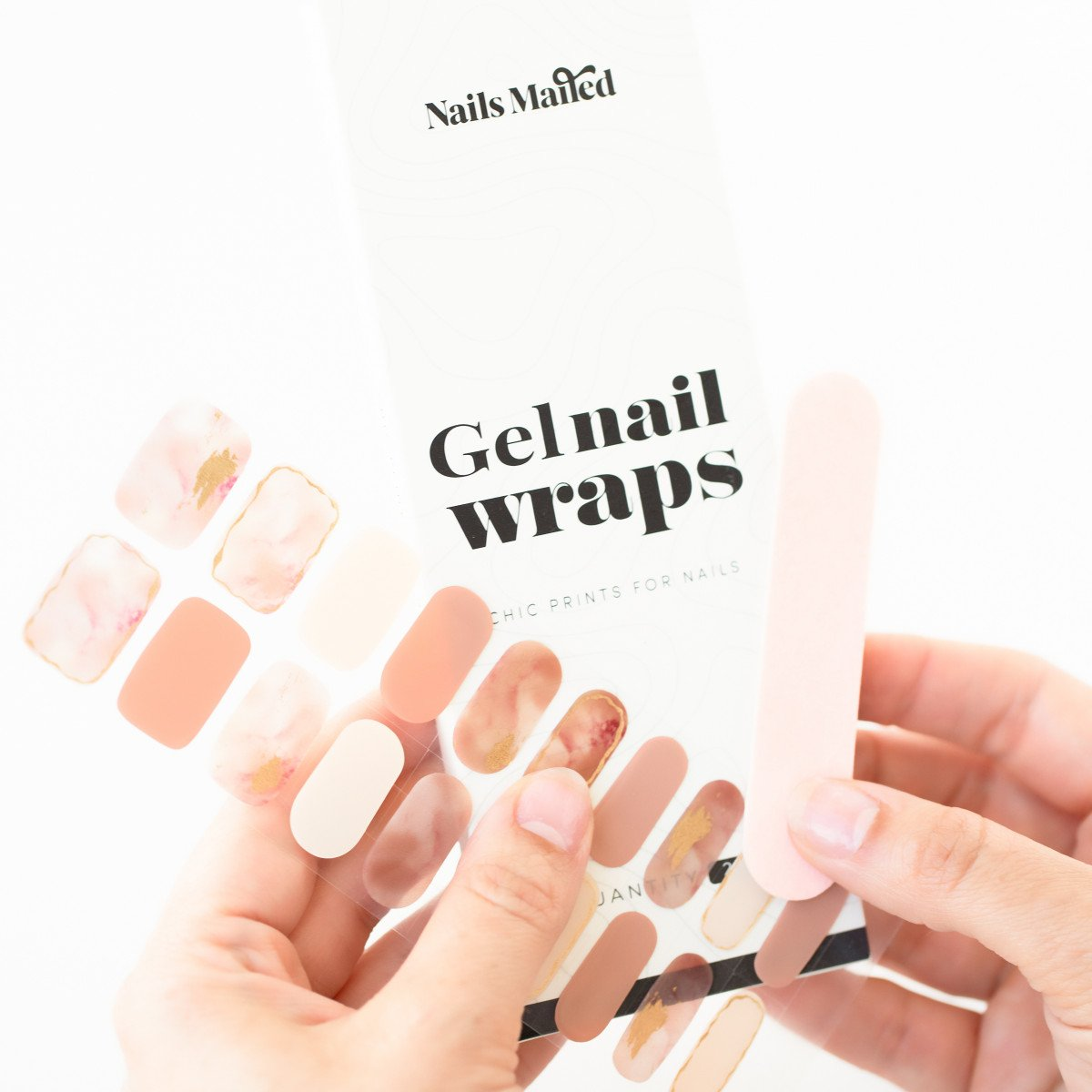 How To Apply Gel Nail Stickers