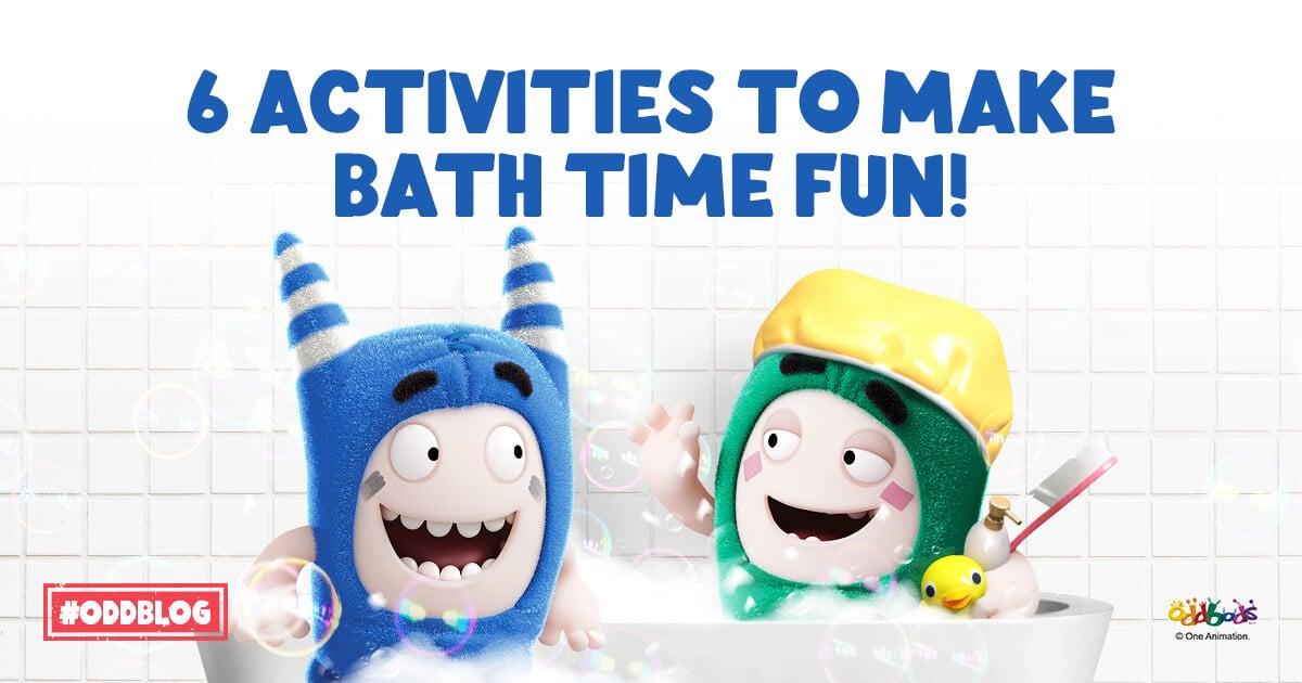 6 Engaging Activities To Make Bath Time Fun!