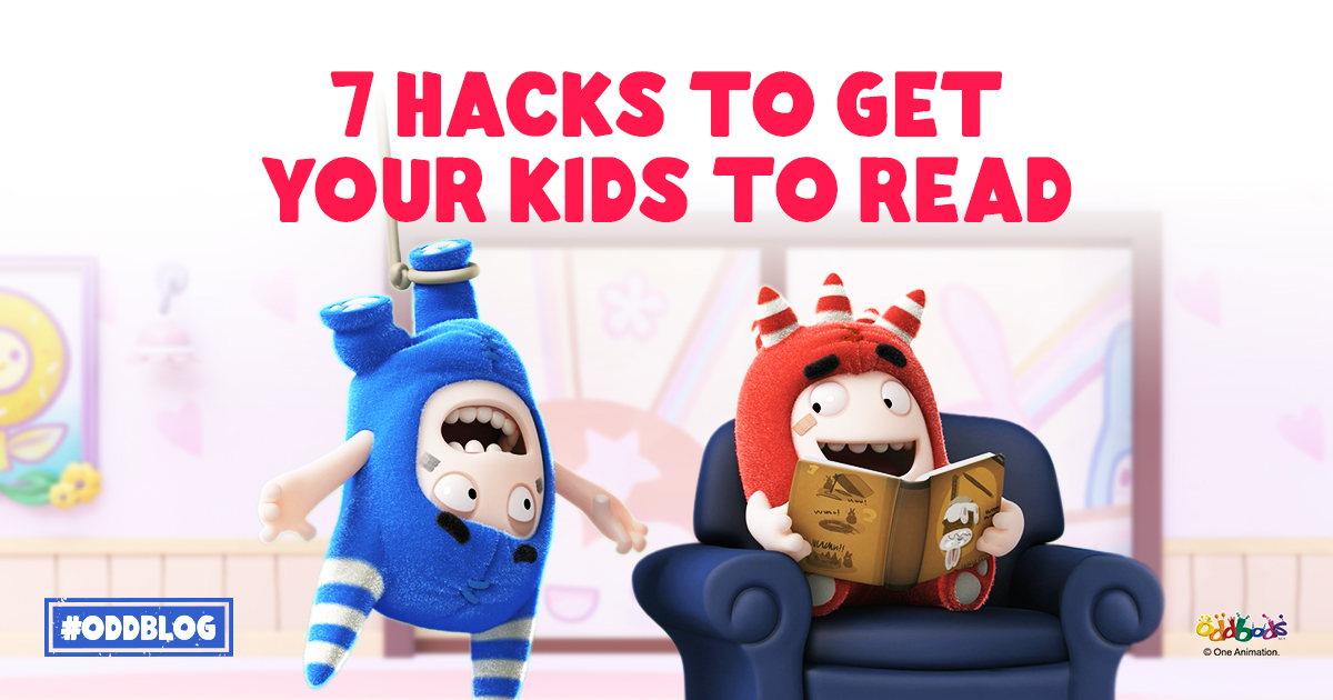 7 Hacks To Get Your Kids To Read!