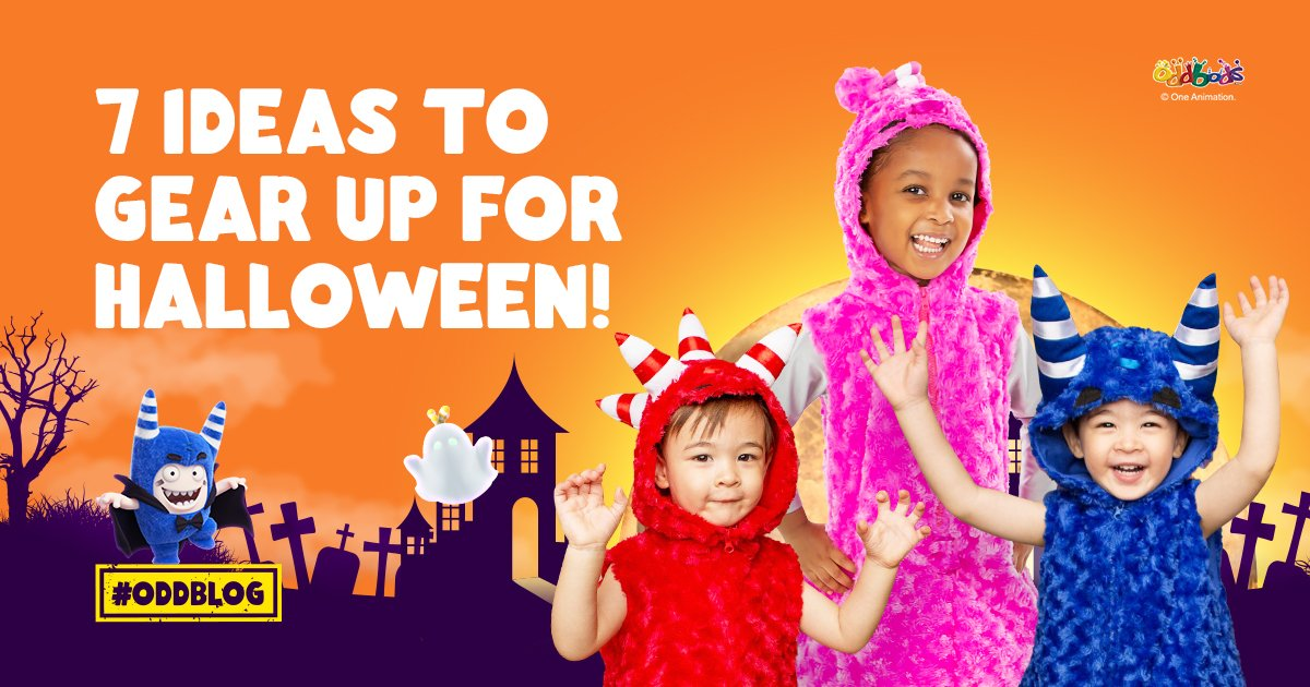 7 Ideas to Gear Up for Halloween!