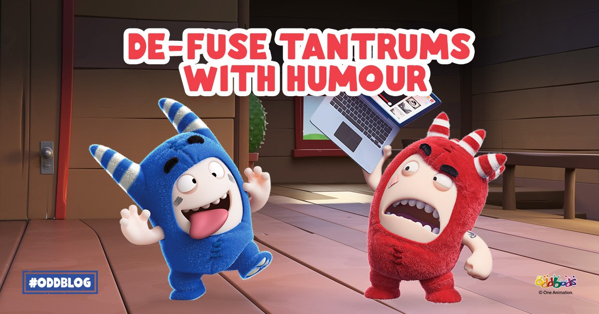 How to Use Humour to De-FUSE Tantrums