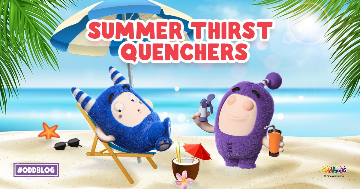 Summer Oddbods Drinks to Quench Your Thirst!