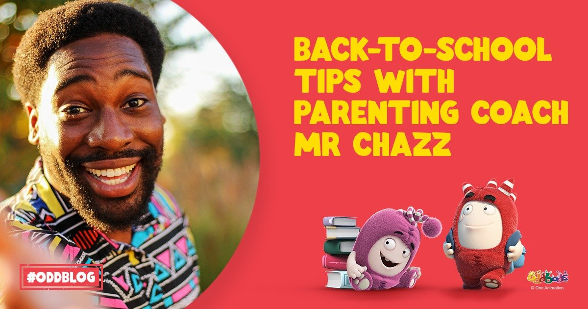Back-to-School Tips with Parenting Coach, Mr Chazz!