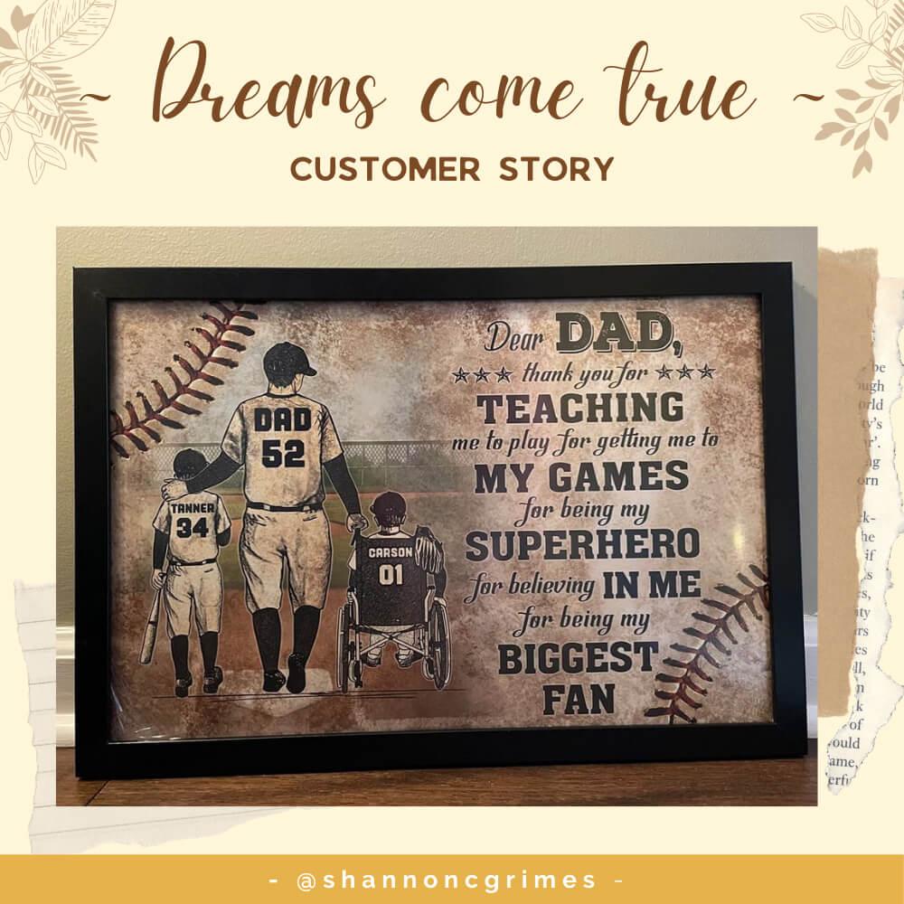 Dreams Come True - Customer Story ❤️