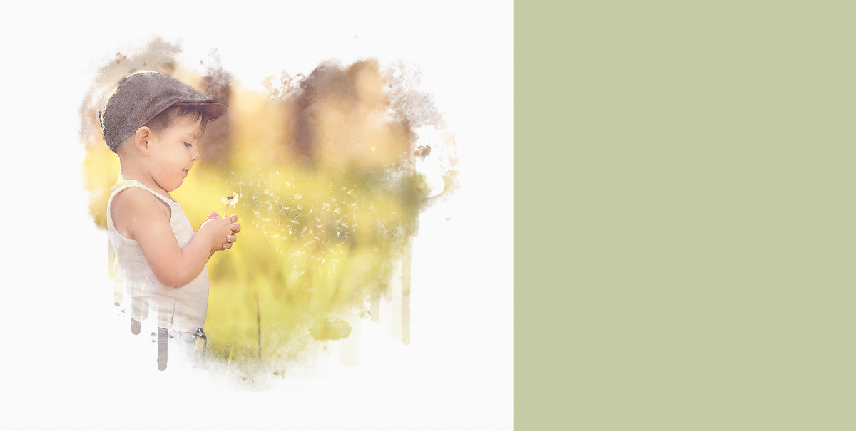 Free watercolor effect for photoshop