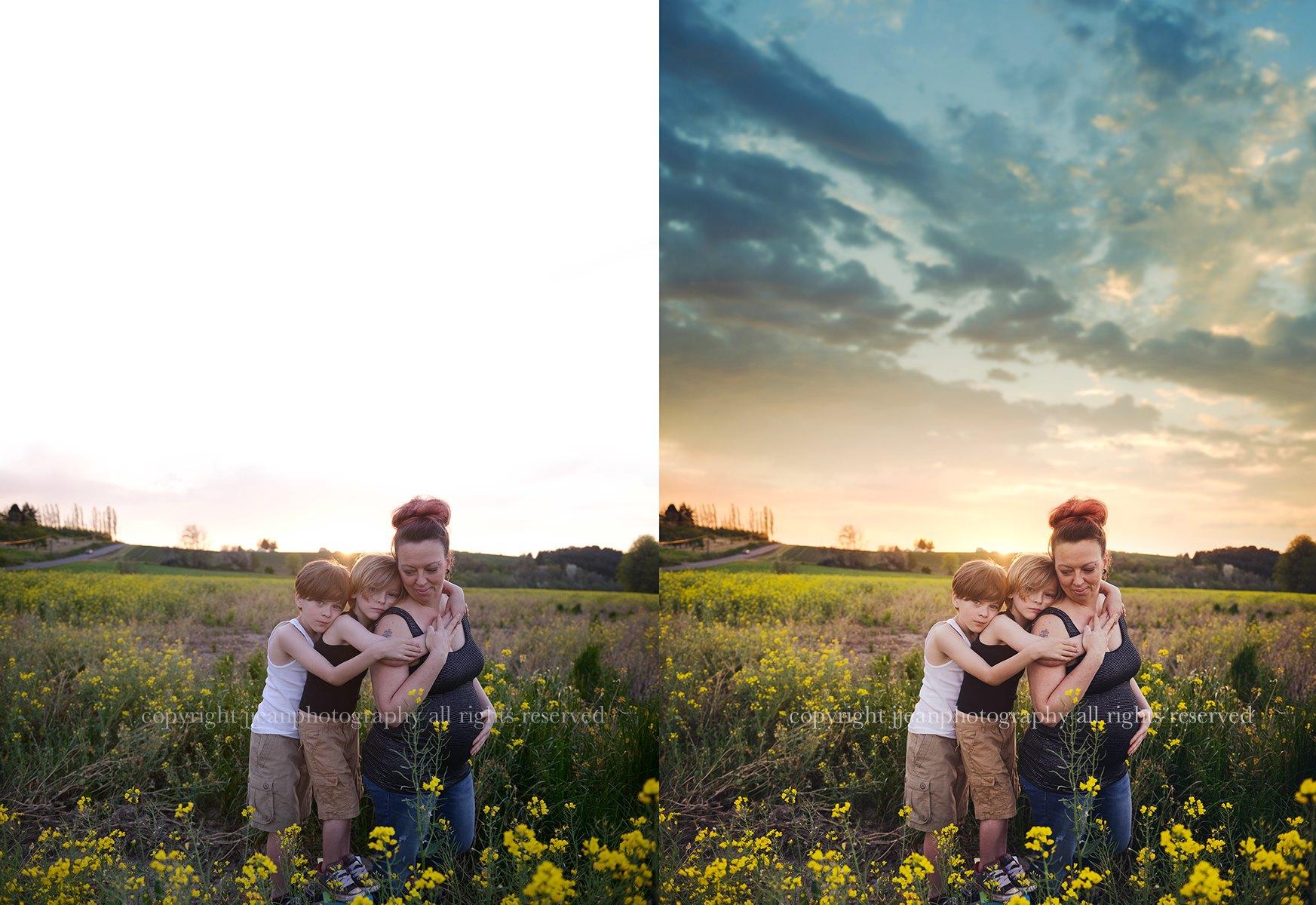 Add a Sky in Photoshop