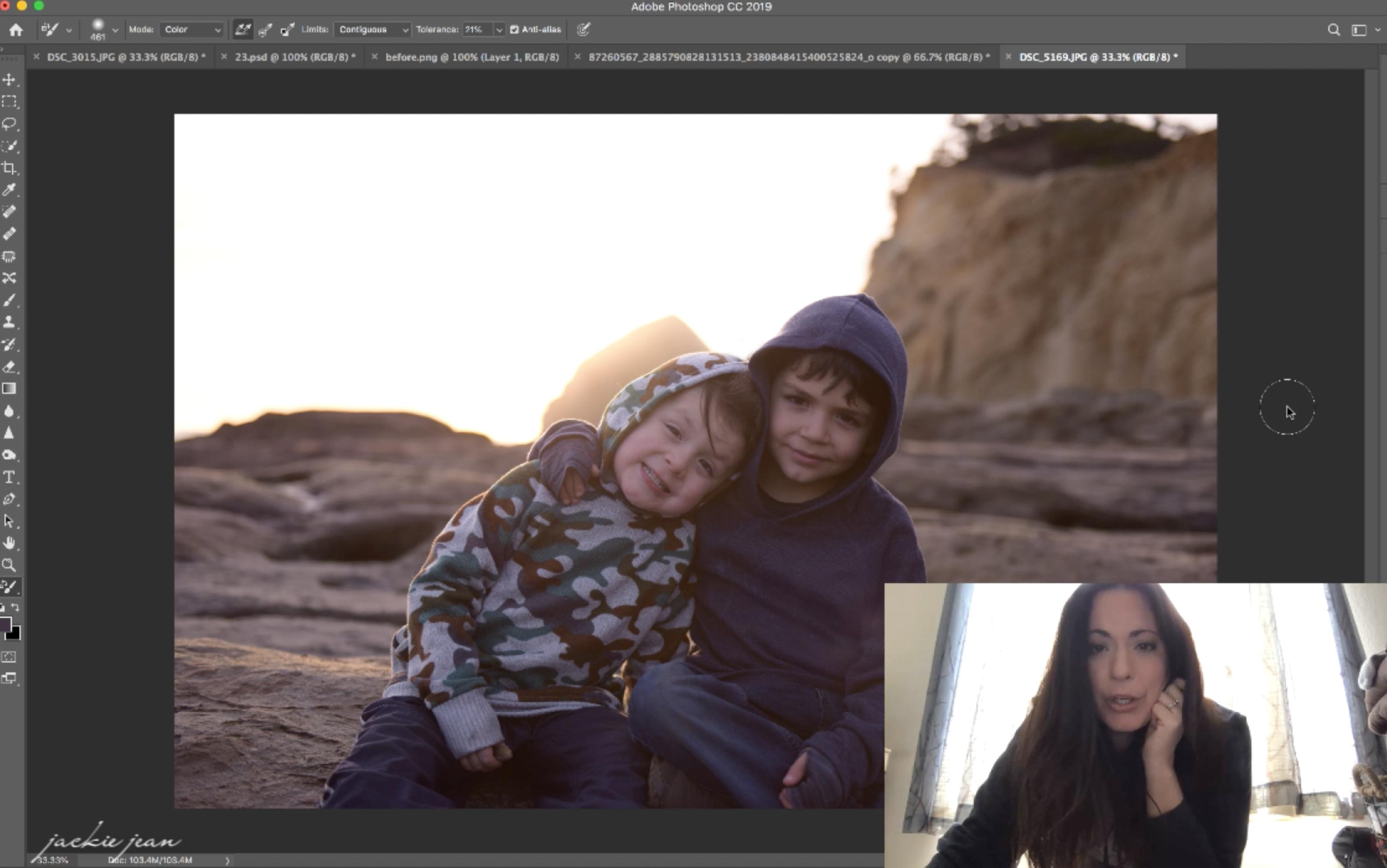 Add Background Blur in Photoshop