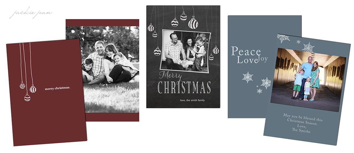 Christmas Card Templates For You