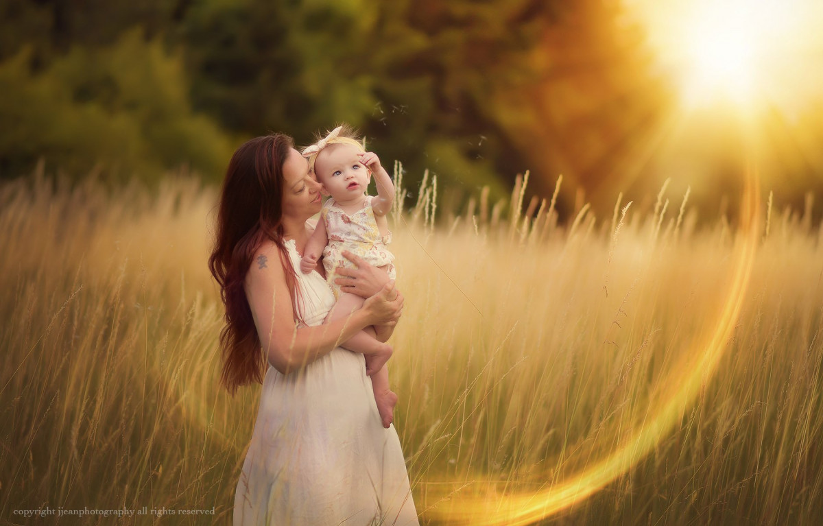 Adding Lens Flare in Photoshop Part II