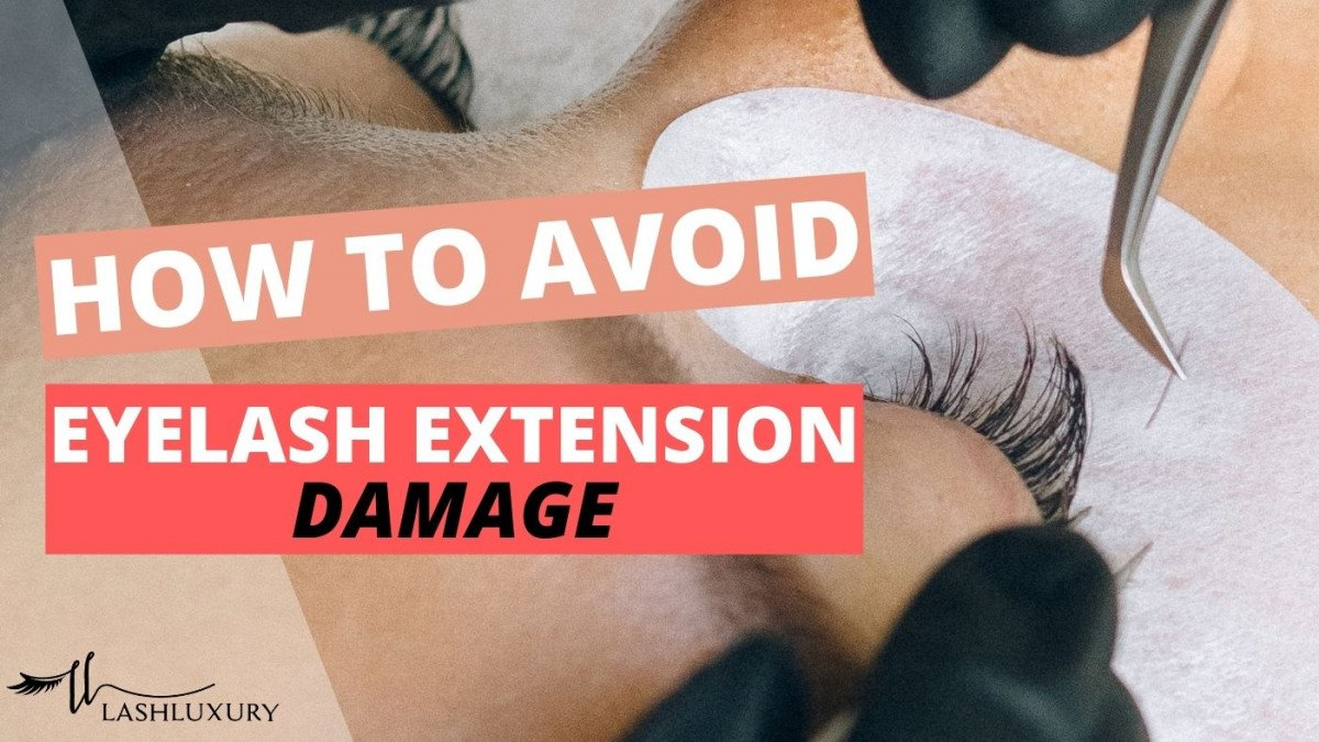 Damaged Eyelashes From Extensions - Avoid and Fix Damaged Eyelashes