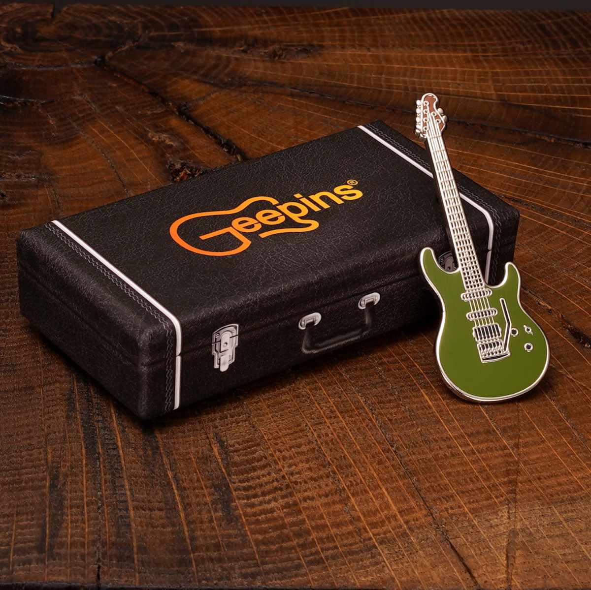 Steve Lukather Music Man Luke III guitar pin