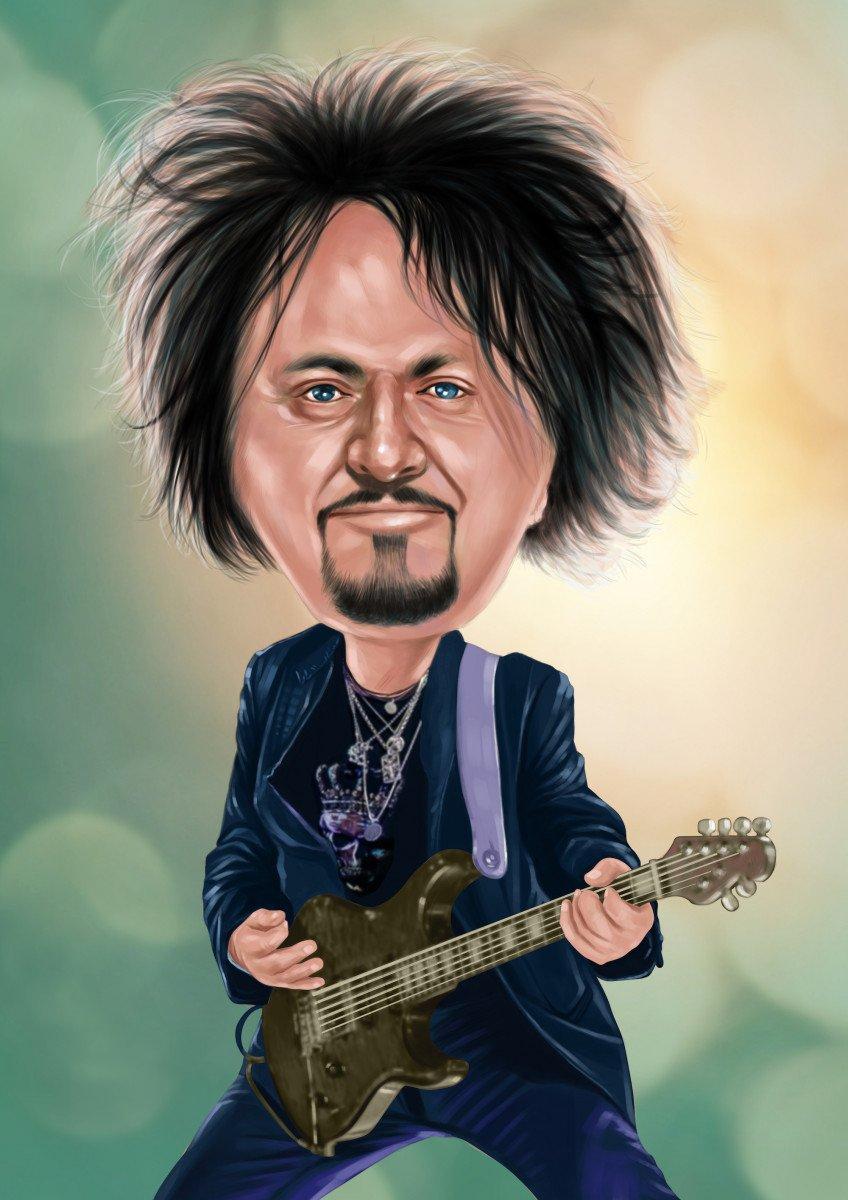 Axe Legend Steve Lukather