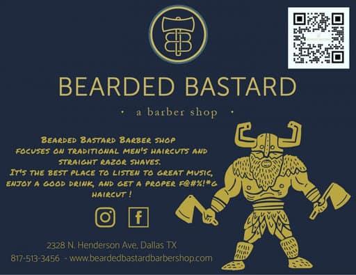 Beard Barber in Dallas - Bearded Bastard