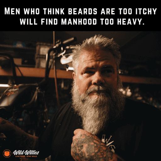 Beard Oil For Men - Manly image