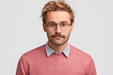 Beardstache mustache stye