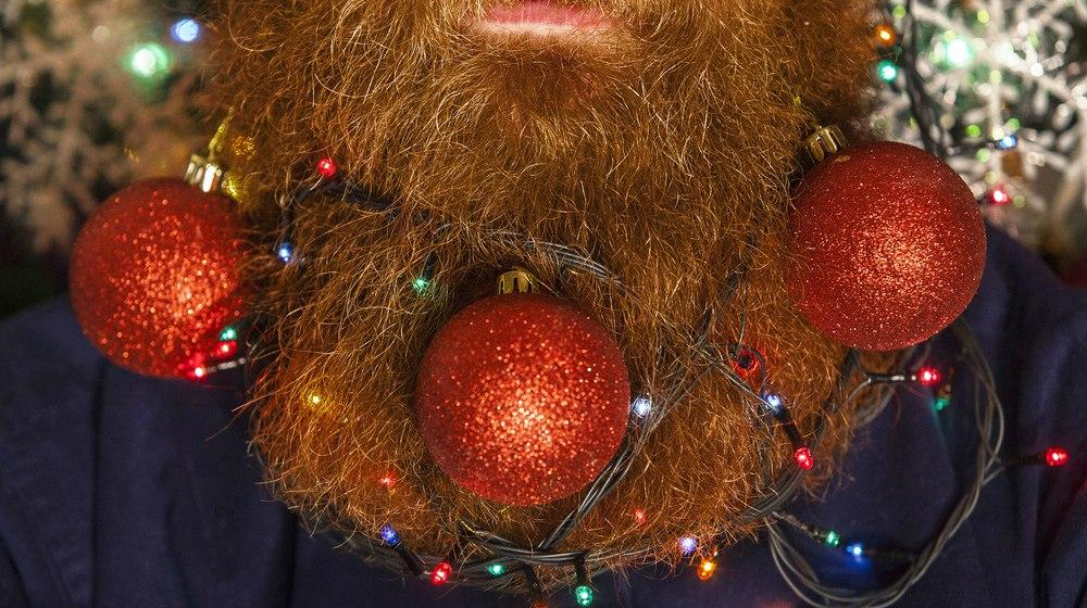 Beard Ornaments: Bling Your Beard For Holiday Parties