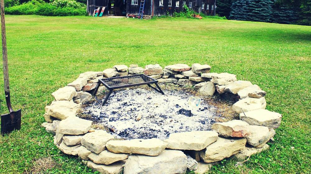 How To Build a Firepit for Years of Backyard Entertainment
