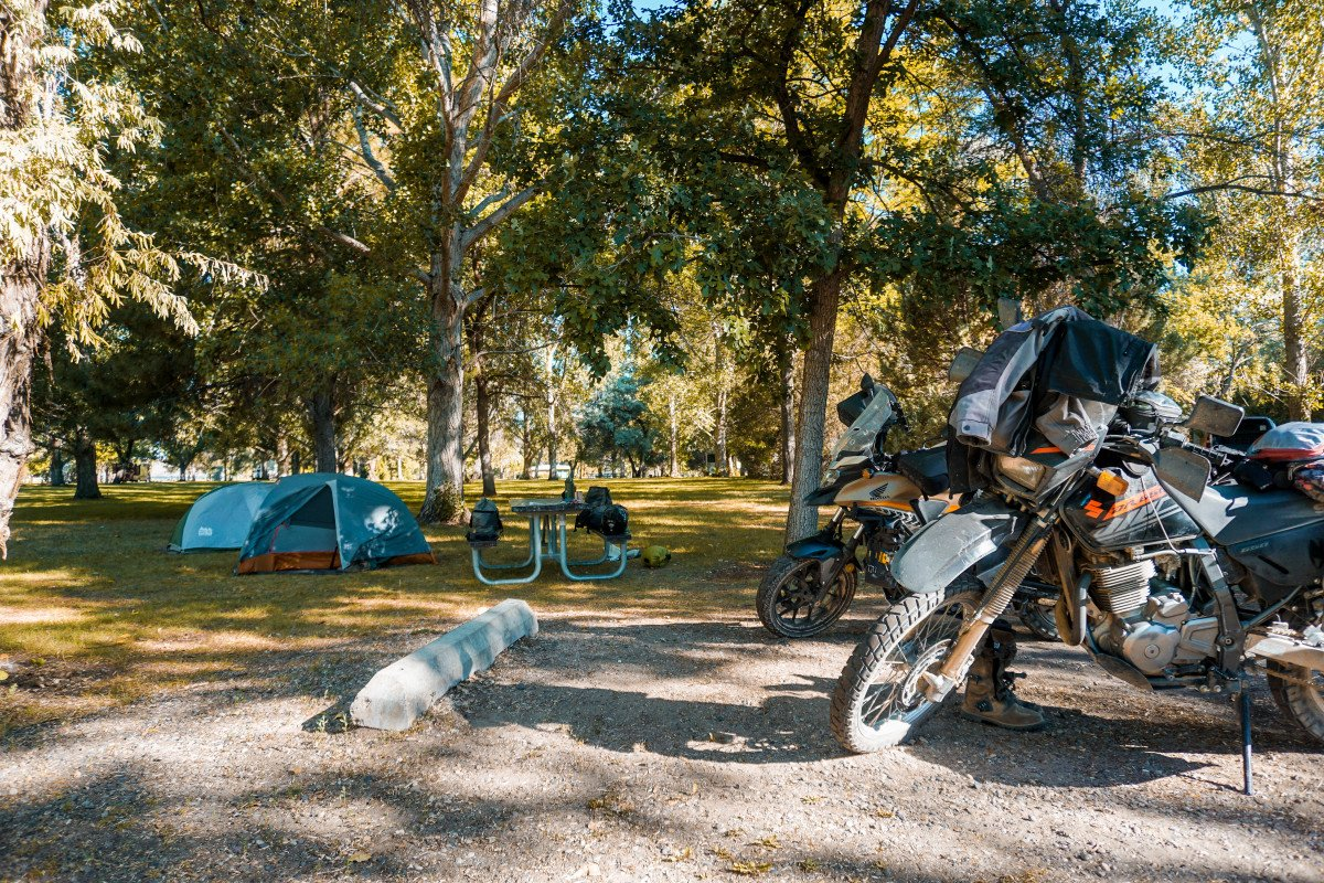Finding a Campsite For Your Next Motorcycle Camping Adventure