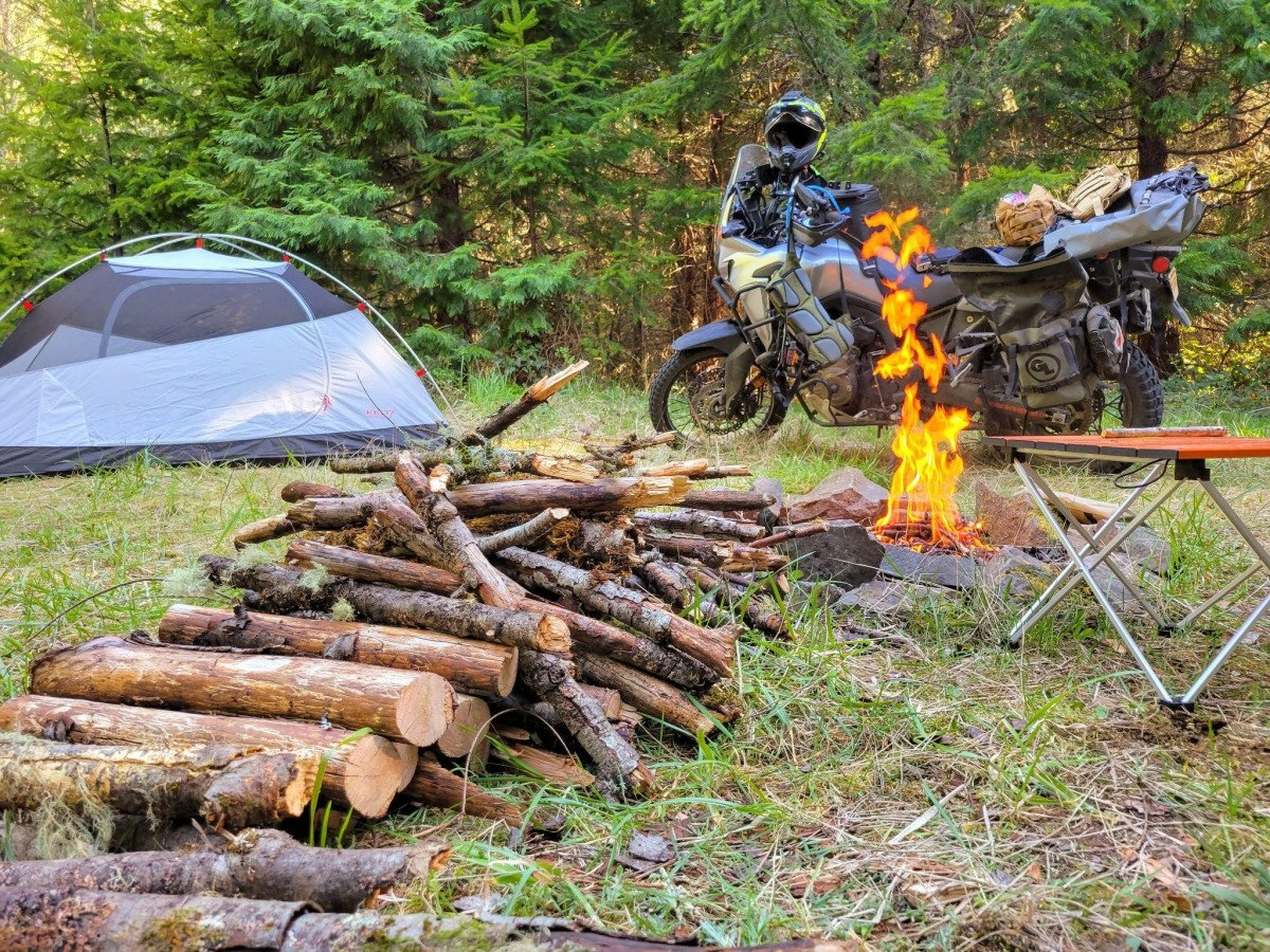"""Motorcycle Camping Gear Essentials: What Moto Camping Gear is """"Must Have"""" vs """"Nice to Have?"""""""