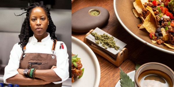 Chef Andrea Drummer Makes #blackgirlmagic History by Opening America's First Cannabis Café